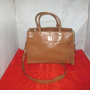 Michael Kors Gramercy Large Leather Satchel